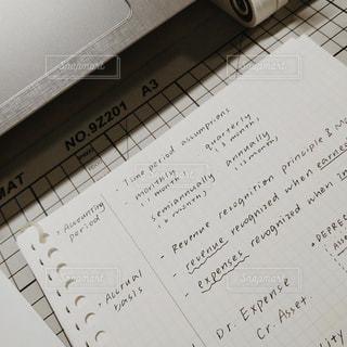 英語の手書き文字の写真・画像素材[1851782]