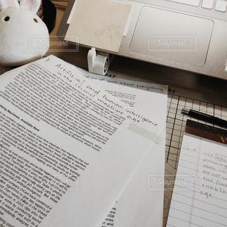 文字,英語,テーブル,パソコン,ノート,メモ,mac,勉強,留学,数字,宿題,プリント,手書き,ライフスタイル,紙,課題,テキスト,AI,人工知能,ノートブック,書き込み