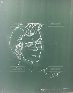 絵,黒板,落書き,ブラックボード