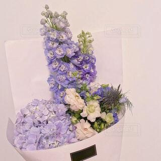 紫色の花束の写真・画像素材[4194864]