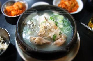 参鶏湯の写真・画像素材[911023]
