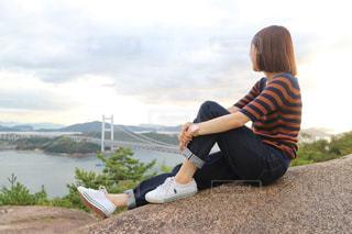 瀬戸大橋を眺めるの写真・画像素材[2458348]
