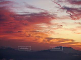 背景の夕日の写真・画像素材[1272167]
