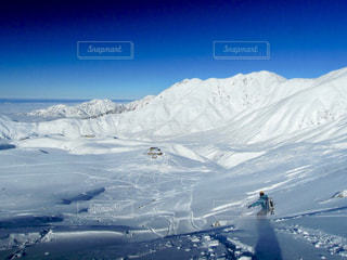 後ろ姿,雪山,背中,立山,スノーボード,バックカントリー,初滑り