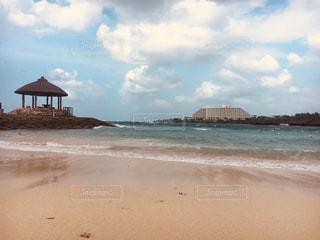 自然,海,空,水面,沖縄,岩,癒し,旅行,眺め