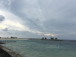 自然,海,水面,沖縄,岩,旅行,眺め
