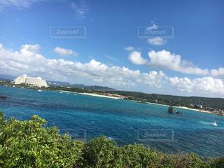 自然,海,空,水面,沖縄,岩,旅行,眺め