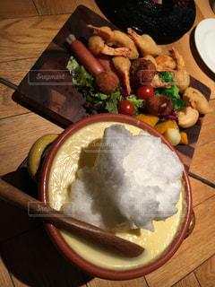 メレンゲもこふわチーズフォンデュの写真・画像素材[905879]