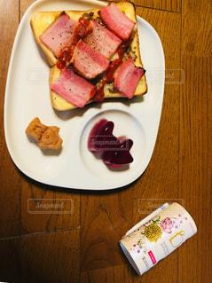 朝食 プラス スペシャルドリンクの写真・画像素材[1161642]