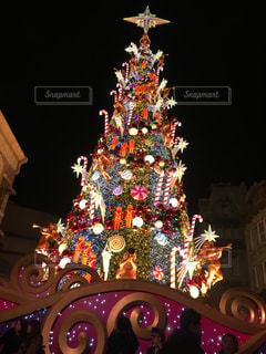 クリスマスツリーの写真・画像素材[1681358]