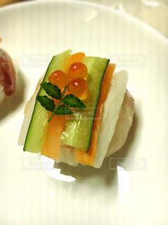 食べ物,花,鮮やか,皿,可愛い,料理,テーブルフォト,手作り,手まり寿司,手毬寿司