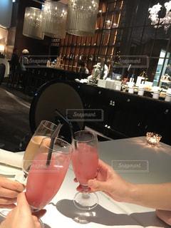 グラス,乾杯,ドリンク,女子会