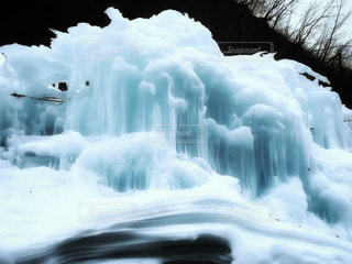 冬,絶景,雪,白,綺麗,氷,観光,寒い,岐阜,つらら,氷柱,ホワイトカラー,氷の渓谷