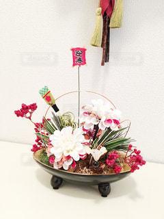 インテリア,花,植物,お正月,和,フラワーアレンジ,迎春