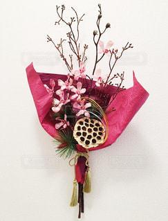 インテリア,花,植物,お正月,和,フラワーアレンジ
