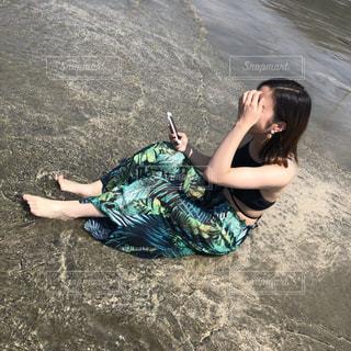 夏といえば海🌴の写真・画像素材[1385082]
