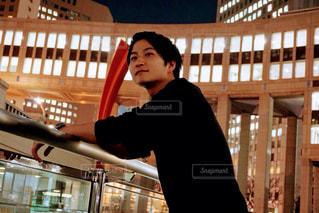 都庁前にて - No.898626