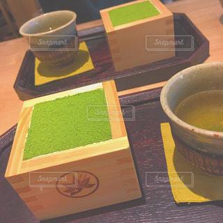 鎌倉と抹茶の写真・画像素材[2015229]
