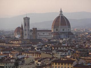 街並,イタリア,海外旅行,フィレンツェ,ドゥオーモ,赤い屋根,ミケランジェロの丘