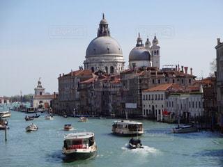 舟,観光地,イタリア,ベネチア,寺院,海外旅行,水の街