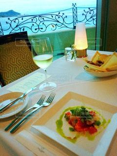 ハワイで贅沢dinnerの写真・画像素材[913211]