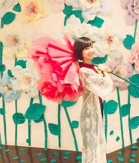 花と私の写真・画像素材[899433]