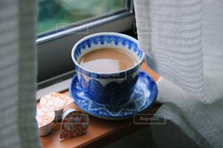 窓際カフェの写真・画像素材[1241807]