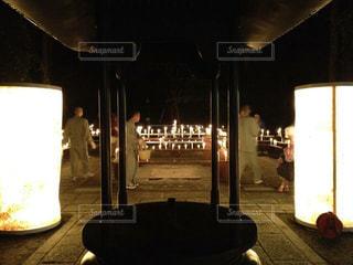 夜,京都,観光,灯篭,三千院,寺,万灯会