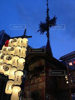 京都,観光,灯篭,祇園祭,山鉾,宵山
