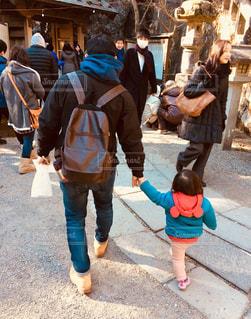 通りを歩く人々 のグループの写真・画像素材[963783]
