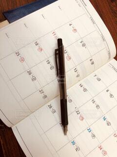 カレンダーの写真・画像素材[4004721]