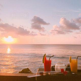 バリ島の夕日の写真・画像素材[1290972]