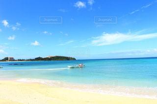 海,空,ビーチ,青,砂浜,沖縄,旅行,幸喜ビーチ