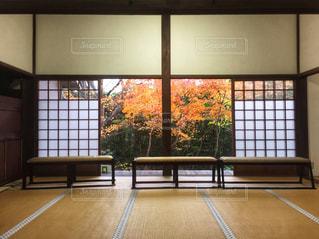大きな窓付きの部屋の写真・画像素材[929763]
