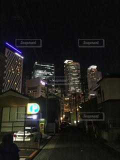 夜の街の写真・画像素材[948120]