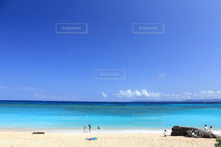 自然,空,ビーチ,綺麗,砂浜,海岸,沖縄,泳ぐ,旅行,日中