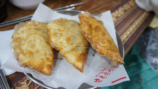 韓国で食べた揚げ餃子の写真・画像素材[913406]