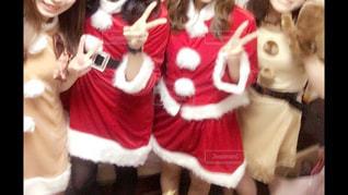 女の子,人,クリスマス