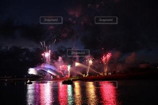 花火の虹の写真・画像素材[1323836]