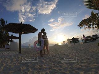 sunset kiss♡の写真・画像素材[1619093]