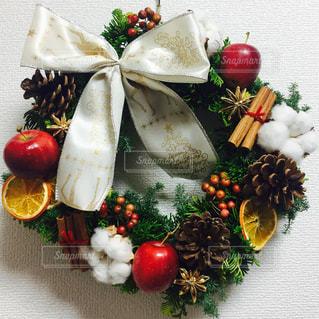 フルーツ,クリスマス,リース,グリーン,ドライフルーツ