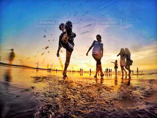 アジアのウユニ塩湖の写真・画像素材[917074]