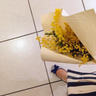 花束,黄色,ミモザ,イエロー,デート,きいろ
