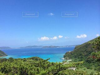 自然,海,空,緑,雲,青,沖縄,景色,旅行,インスタ映え