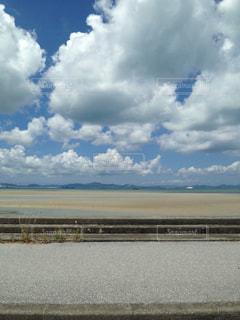 海,綺麗,沖縄,旅行,干潮