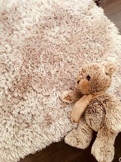 クマさんのぬいぐるみの写真・画像素材[906624]