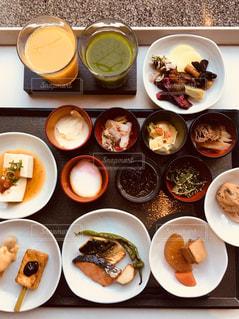 京都の朝食の写真・画像素材[911714]