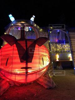 イルミネーション,クリスマス,ジブリ,猫バス,綺麗な風景