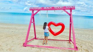 沖縄 長浜ビーチです🌺🌴の写真・画像素材[906828]