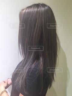 ストレートヘアの写真・画像素材[2282423]